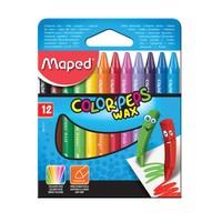 Maped Color Peps Wax Crayons