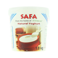 Safa Natural Yoghurt 1.8kg