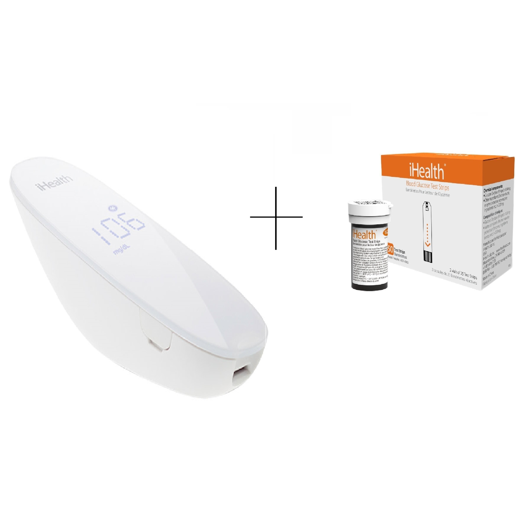 IHEALTH BG5 GLUCO MONITOR+STRIP