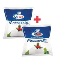 BUY 1 + 1 FREE Latbri Mozzarella Preferita 125g