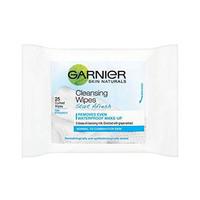 Garnier Skin Naturals Cleansing Wipes 25 Wipes