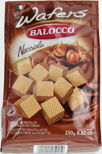 Balocco Wafer Hazelnut 250g