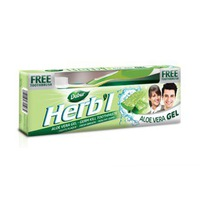 Dabur Toothpaste Herbal Aloe Vera 150GR + Toothbrush