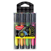 Maped Fluo Max Highlighter 4Pcs