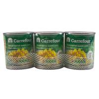Carrefour Whole Kernel Sweet Corn 180g x3