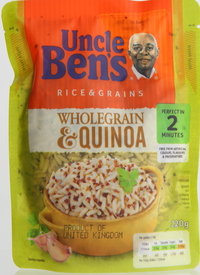 Uncle Ben's Rice & Grains Wholegrain & Quinoa 220g