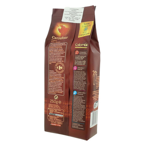 Carrefour-Colombian-Pure-Arabica-Ground-Coffee-250g