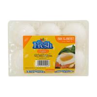 Farm Fresh White Large Eggs 6pcs