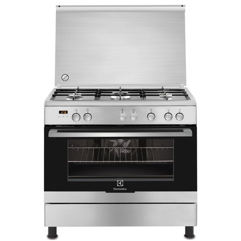 Electrolux-90X60-Cm-Gas-Cooker-EKK-925-AOOX-5Burners-Electric-Oven