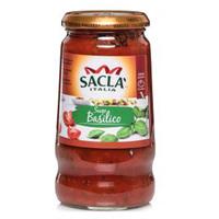 Sacla Italia Sugo Basilico 420g