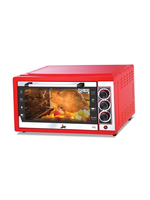 Jac-Oven-With-Grill---38L,-1500W---NGO-382---Red