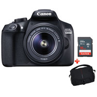 Canon SLR Camera EOS 1300D 18-55MM DC Lens + 16GB Card + Case