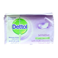 Dettol Sensitive Anti-Bacterial Soap 165g