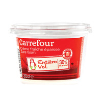 Carrefour Thick Sour Cream 200ml
