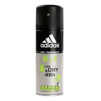 Adidas 6 In 1 Male Deodorant 150ml