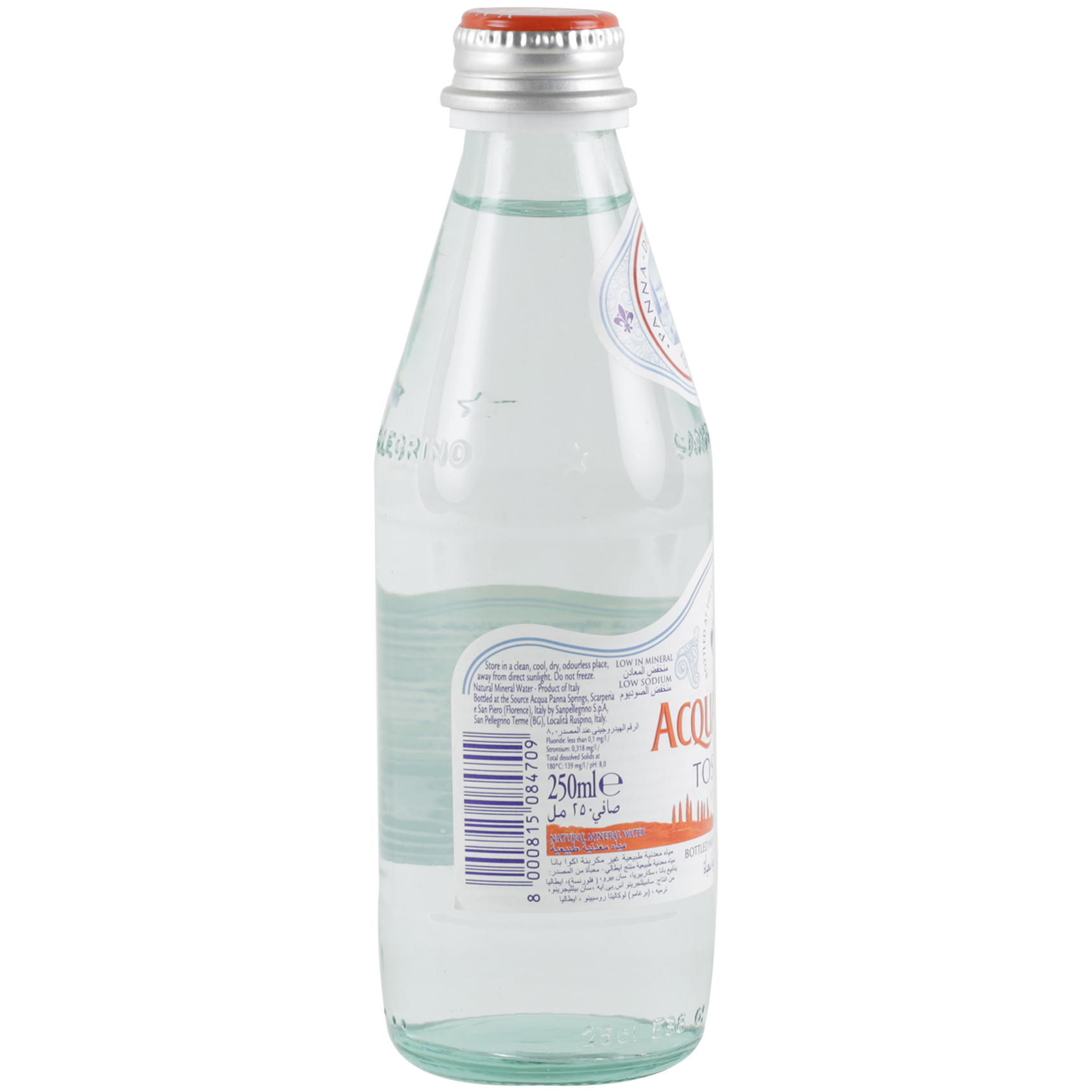 ACQUA PANNA NAT. MIN. WATER 250ML