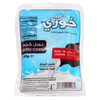 Khoury Dairy Double Cream Low In Salt Cheese 250g