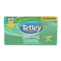 Tetley Drawstring Mint Green Tea 37.5g