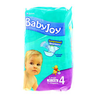 Babyjoy Diapers Large Size 10-18kg 11 Counts