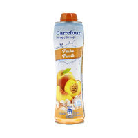 Carrefour Peach Syrup 75CL