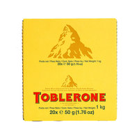 Toblerone Little Minis Swiss Milk Chocolate With Honey & Almond Nougat 50g X20