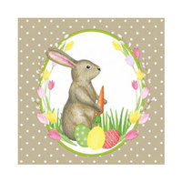 Duni Napkin Mr Rabbit 33CM 181741