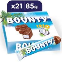 Bounty® Milk Chocolate Trio Bars 85g x 21