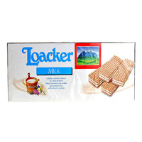 Loacker Wafer Milk Cream 45grx25