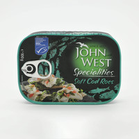 John West Soft Cod Roes 100 g