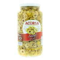 Acorsa Sliced Green Olives 950g