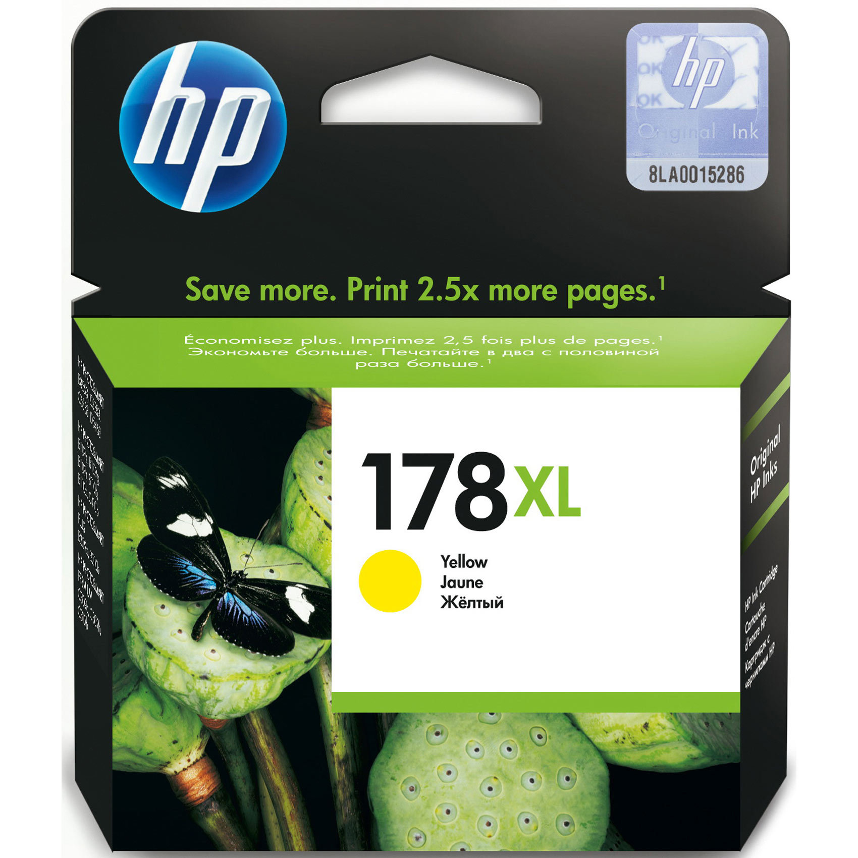 HP CART 178XL YELLOW