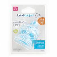 Bebeconfort Wide-Base Teat Perfect Sense Silicone Size Y x2