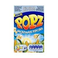 Popz Pop Corn Microwave 6% Fat 85GR X 3