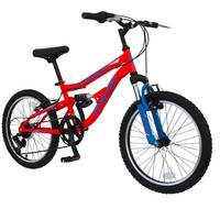"""Spartan 20"""" Mach2.0 Boys MTB Bicycle Orange"""