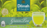 Dilmah Green Tea with Moroccan Mint 20's