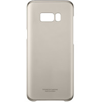 Samsung Case S8 Plus Clear Cover Gold
