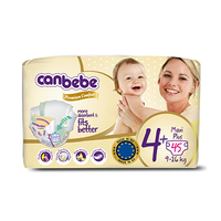 Canebe Diapers Size 4 9-16KG 45 Sheets
