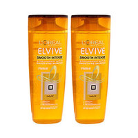 L'Oreal Paris Elvive Shampooing Smooth Intense 400ML X2 20% Off