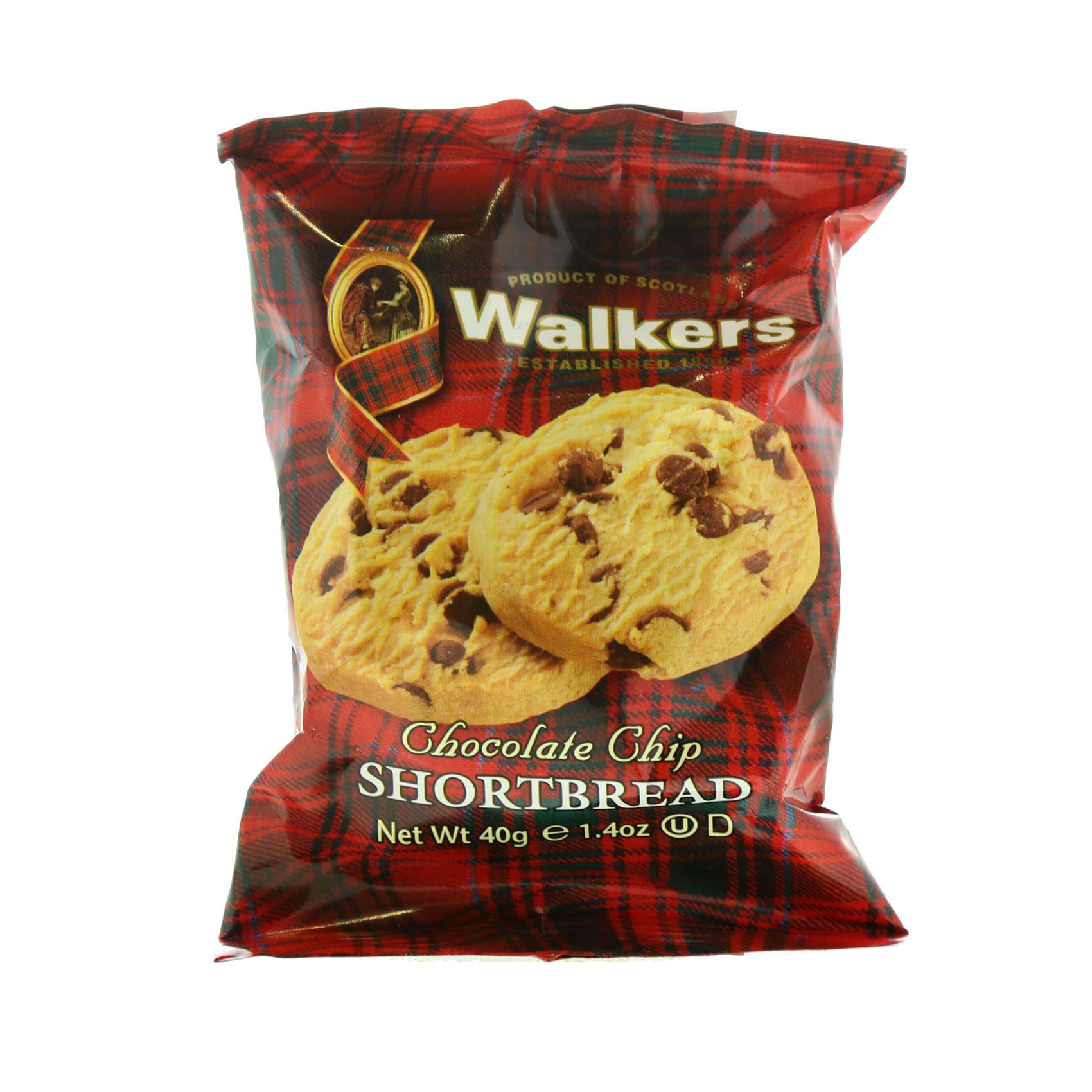 WALKERS BISCUIT CHOCCHIPS 2'S 40GR