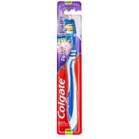 Colgate ZigZag Flexible + Tongue Cleaner Medium Toothbrush 1 Pack