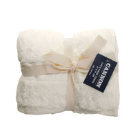 Cannon Hand Towel 2pc set Cream 41X71cm