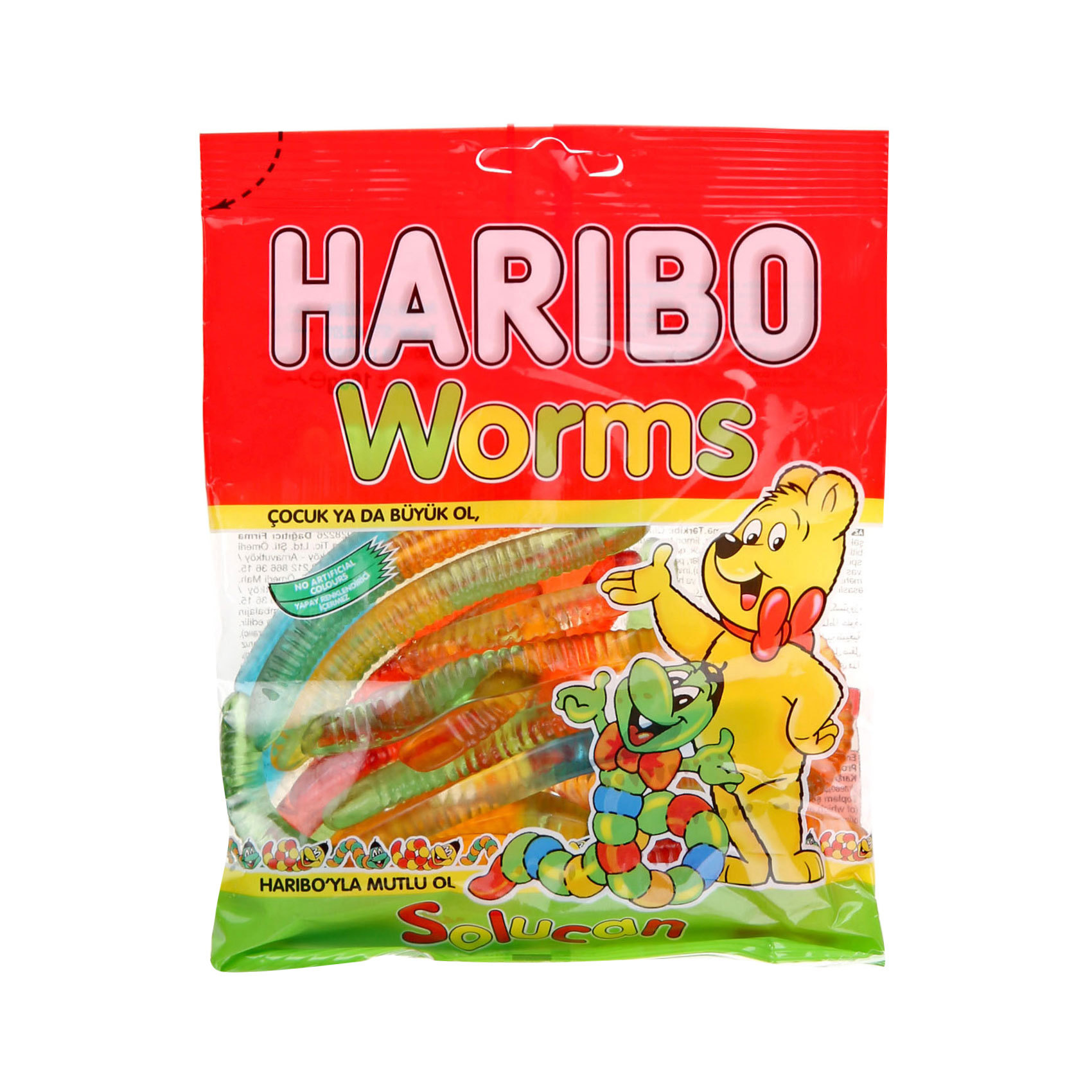 HARIBO WORMS 160G
