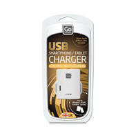Go Travel Twin USB Wall Charger