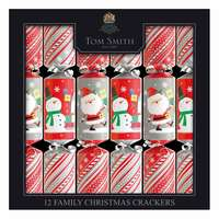 """Tom Smith 12 X 12"""" Fun Family Crackers"""