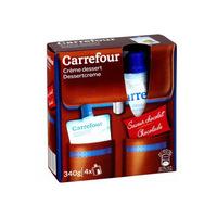 Carrefour Chocolate Cream Dessert 4X85GR