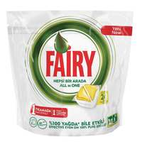 Fairy Auto Dish Wash All In One - Lemon Scent, 24 Capsules