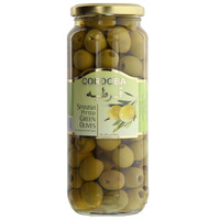 Cordoba Spanish Pitted Green Olives 575g