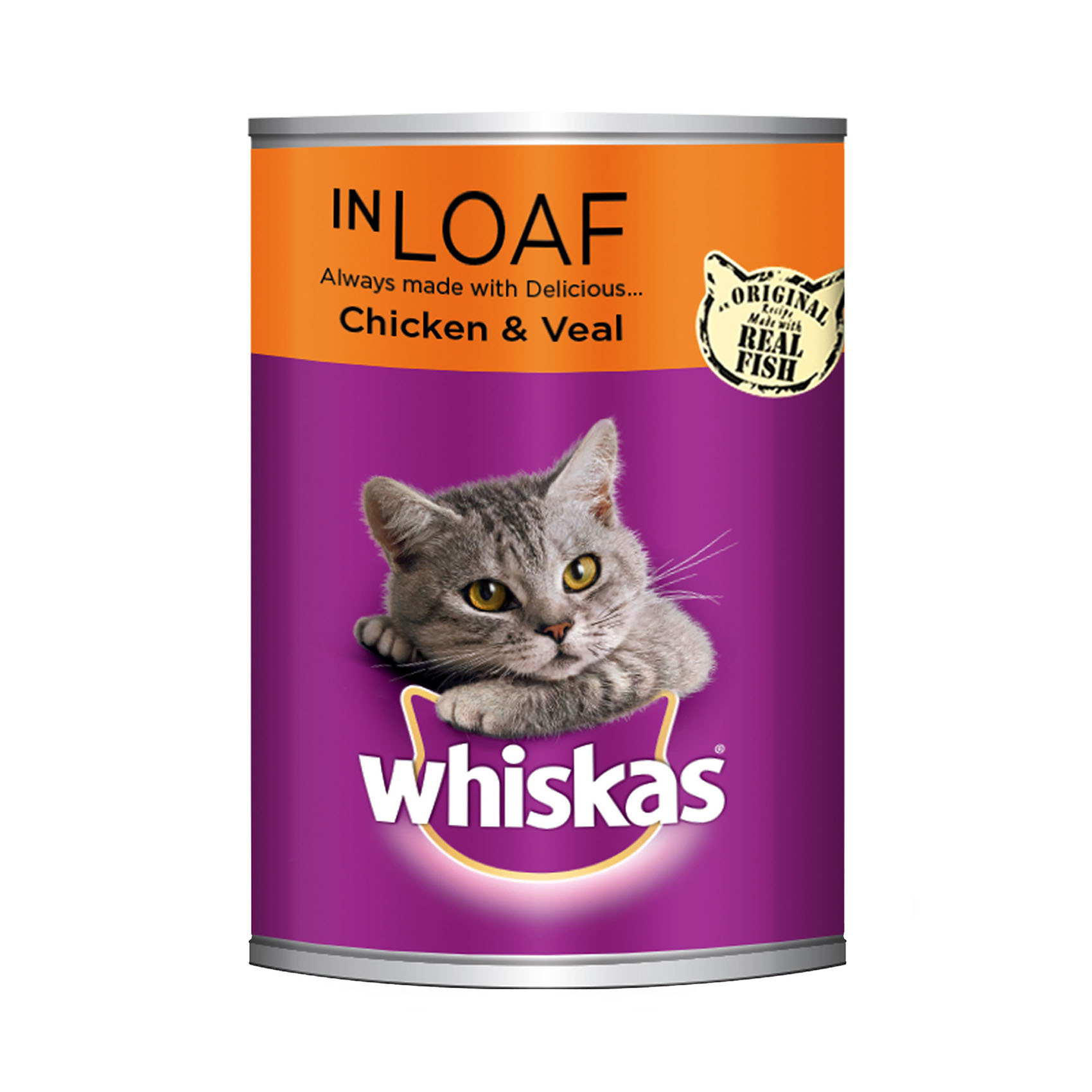 WHISKAS WITH CHICKEN/VEAL 400GR