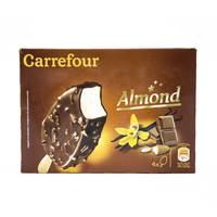 Carrefour Giant Stick Almond 4Pieces x 78 g