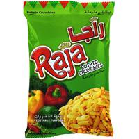 Raja Potato Crunchies Vegetable Flavour 140g